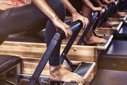 My First Reformer Pilates Class.  What you can expect!